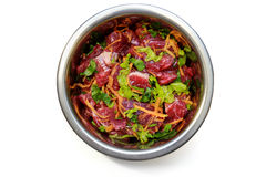 Alimento naturale per i cani Fotografie Stock