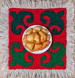 Alimento nazionale kazako fotografia stock