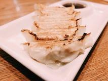 alimento no prato Fotografia de Stock Royalty Free