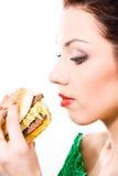 Alimento non sano immagine stock libera da diritti