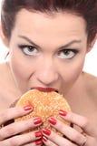 Alimento non sano immagini stock