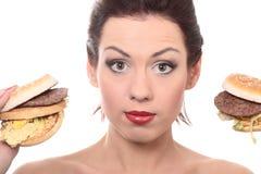 Alimento non sano fotografia stock