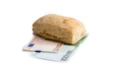 Alimento o soldi Royalty Illustrazione gratis