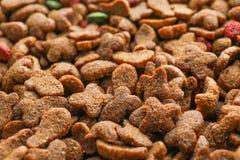 Alimento para animales seco como fondo, imagenes de archivo