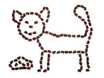 Alimento para gatos Imagens de Stock Royalty Free