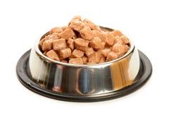 Alimento para los gatos y los perros Imágenes de archivo libres de regalías