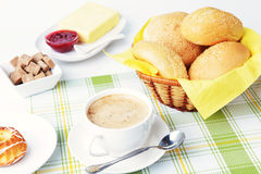 Alimento para o café da manhã imagem de stock royalty free