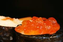 Alimento: particolare dei sushi Fotografie Stock Libere da Diritti