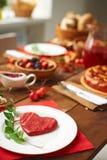Alimento per amore Fotografia Stock