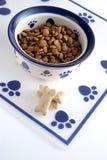 Alimento per animali domestici Fotografia Stock