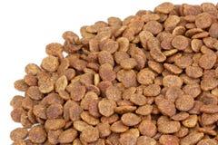 Alimento per animali domestici asciutto Fotografia Stock