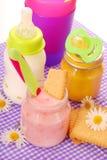 Alimento per il bambino Immagini Stock