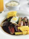 Alimento peruano imagem de stock