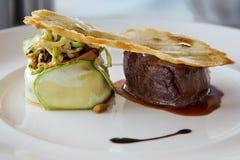 Alimento piacevole del ristorante Fotografia Stock