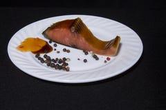 Alimento, piatto, bastoni, pepe, isolamento, Fotografie Stock