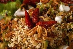 Alimento picante tailandés Fotos de archivo libres de regalías