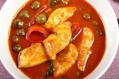Alimento picante tailandés Fotos de archivo