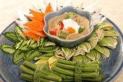 Alimento picante tailandês foto de stock