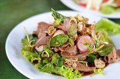 Alimento piccante tailandese Fotografia Stock Libera da Diritti
