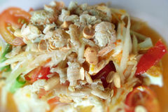 Alimento piccante tailandese Immagini Stock