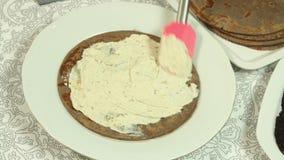 Alimento que denomina a receita do bolo do crepe filme