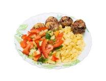Alimento quente Imagem de Stock