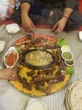 Alimento quetta pakistan di Desi Fotografie Stock Libere da Diritti