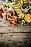 Alimento ricco della buona fibra del carboidrato fotografia stock libera da diritti