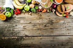 Alimento ricco della buona fibra del carboidrato fotografia stock