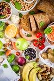 Alimento ricco della buona fibra del carboidrato fotografie stock libere da diritti