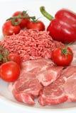 Alimento rojo Imagenes de archivo