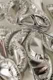 Alimento rotondo del foglio di alluminio Fotografia Stock Libera da Diritti