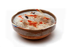 Alimento rumeno tradizionale chiamato piftie fotografie stock libere da diritti