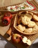 Alimento rural de los pasteles stock de ilustración