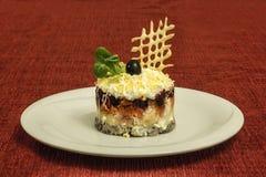 Alimento russo tradizionale Fotografia Stock