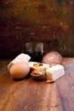 Alimento rustico Fotografie Stock
