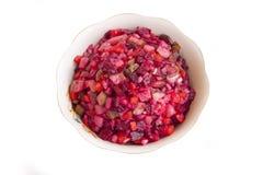 Alimento Salada da cor vermelha dos vegetais Fotografia de Stock Royalty Free