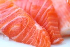 Alimento Salmon do japonês do sashimi Foto de Stock Royalty Free
