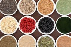 Alimento salutare del body building Fotografia Stock
