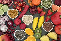 Alimento salutare di dieta di Paleo Fotografia Stock