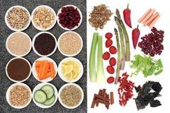 Alimento salutare di perdita di peso Fotografia Stock Libera da Diritti