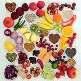 Alimento salutare paleolitico di dieta Immagini Stock Libere da Diritti