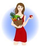 Alimento sano illustrazione vettoriale