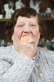 Alimento sano anziano Immagine Stock Libera da Diritti