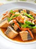 Alimento sano con il tofu fotografie stock libere da diritti