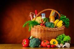Alimento sano con lo spazio della copia fotografie stock libere da diritti