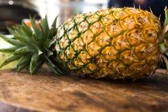 Alimento sano dell'ananas della frutta fresca Immagini Stock