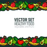 Alimento sano delle verdure Fotografie Stock