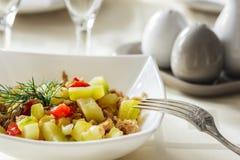 Alimento sano e sano saporito Fotografia Stock