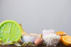 Alimento sano ed adeguato Fotografie Stock